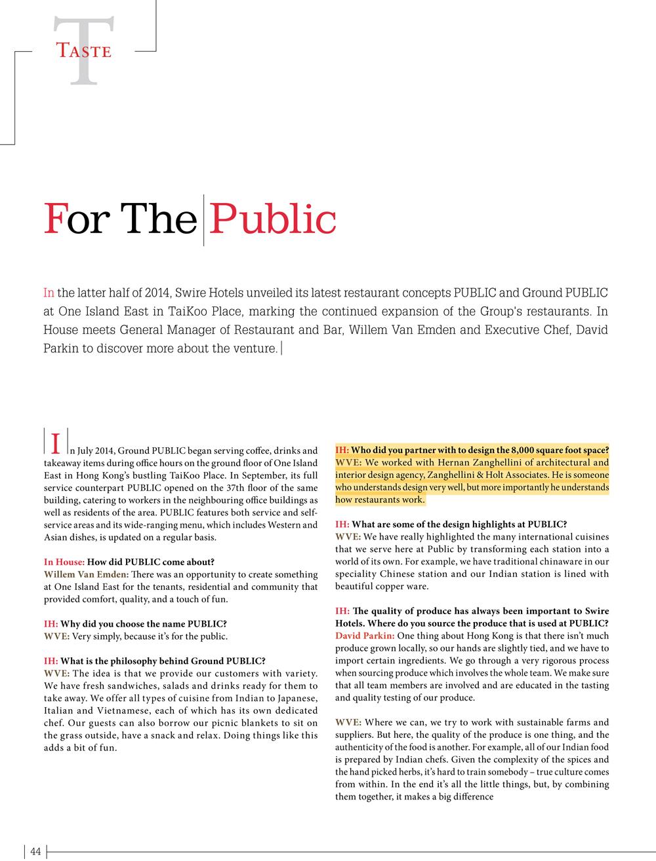 Ground PUBLIC & PUBLIC