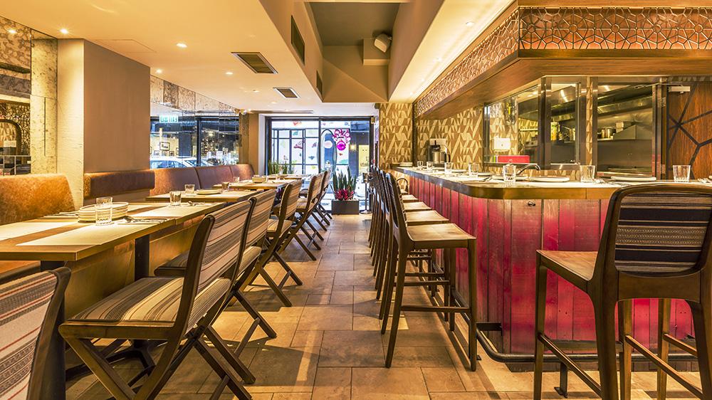 Zanghellini holt associates bedu restaurant interior
