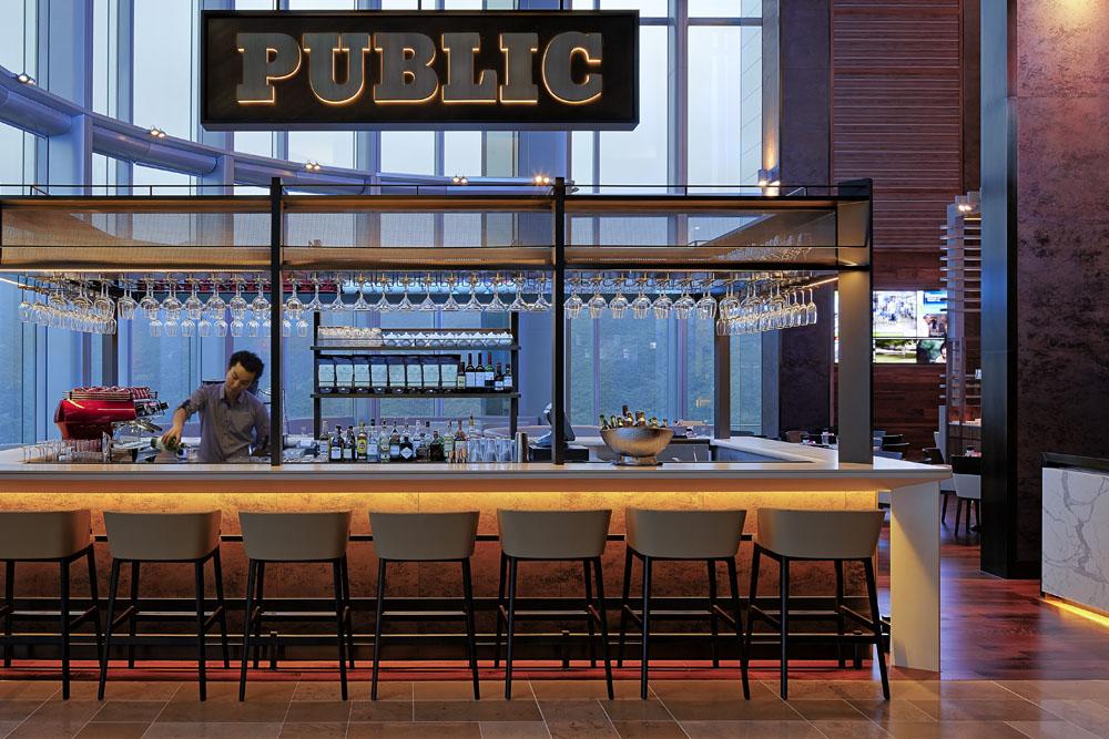 Zanghellini holt associates public cafe l interior